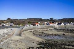 Guernsey coastline Royalty Free Stock Photos