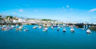 Guernsey-Hafenjachthafen Lizenzfreies Stockfoto
