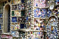 Guernsey - het Kleine Kapel decoratieve detail Royalty-vrije Stock Foto's