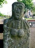 Guernsey La Gran'Mere Du Chimquiere statue-menhir Royalty Free Stock Photos