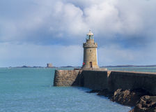 Guernsey Lighthouse Royalty Free Stock Photography