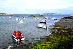 Guernsey-Petils Bay-Bordeaux Harbour area royalty free stock images