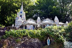 Free Guernsey -Roadside View Of The Little Chapel Stock Photos - 44702133