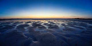 Guernsey-zonsondergang Royalty-vrije Stock Afbeeldingen