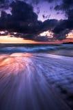 Guernsey-zonsondergang Royalty-vrije Stock Afbeelding