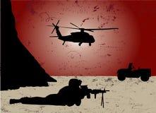 Guerra illustrazione vettoriale