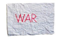 Guerra Fotografía de archivo