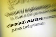 Guerra chimica Fotografie Stock Libere da Diritti