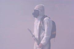 Guerra chimica e biologica Fotografie Stock Libere da Diritti