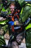 Guerra chimica e biologica Fotografia Stock Libera da Diritti
