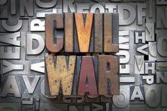 Guerra civil imágenes de archivo libres de regalías