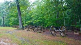 Guerra civil Canon em Shiloh fotos de stock royalty free