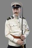 Guerra civil em Rússia, guerra civil 1918-1922 do russo, protetor branco, T Imagem de Stock