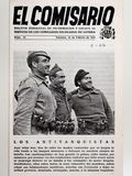 Guerra civil española Revista el commissar ningún 13 antitanques Imagenes de archivo