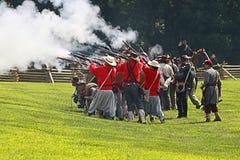 Guerra civile Fotografia Stock
