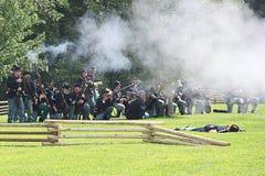 Guerra civile Fotografia Stock Libera da Diritti