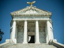 Guerra civile commemorativa Vicksburg Mississippi di Illinois immagine stock libera da diritti