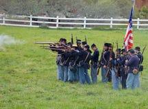 Guerra civile degli Stati Uniti Immagine Stock