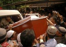 GUERRA CONTRA EL TERRORISMO DE INDONESIA Foto de archivo libre de regalías