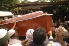 GUERRA CONTRA EL TERRORISMO DE INDONESIA Fotos de archivo libres de regalías