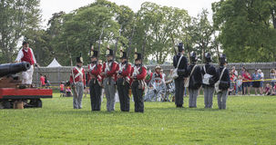 Guerra de 1812 fotografía de archivo