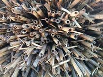 Guerra de bambú Imagenes de archivo