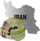 Guerra de Irán Stock de ilustración