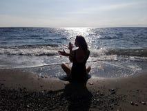 ¡Guerra de la yoga del intento no! Imagen de archivo