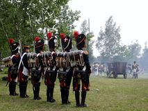 Guerra de Napoleon Imagem de Stock