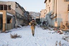 Guerra de Russias contra Ucrania Fotografía de archivo libre de regalías