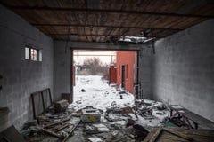 Guerra de Russias contra Ucrania Foto de archivo