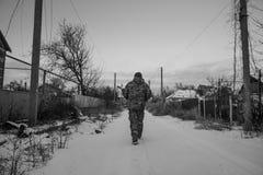 Guerra de Russias contra Ucrania Fotografía de archivo