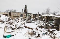 Guerra de Russias contra Ucrania Imagen de archivo libre de regalías