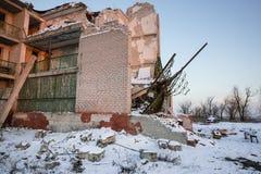 Guerra de Russias contra Ucrania Fotos de archivo