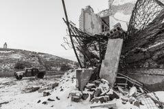 Guerra de Russias contra Ucrania Fotos de archivo libres de regalías