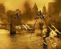 Guerra dei mondi 2 illustrazione di stock