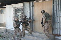 Guerra di Afghanistan fotografia stock