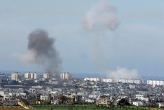 Guerra di Gaza Fotografia Stock Libera da Diritti
