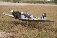 Guerra di modello dell'aeroplano immagini stock