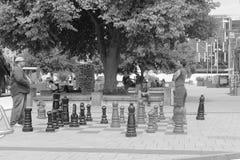 Guerra di scacchi fotografia stock libera da diritti