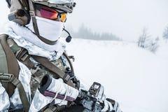 Guerra do ártico do inverno Foto de Stock