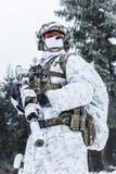 Guerra do ártico do inverno Imagens de Stock Royalty Free