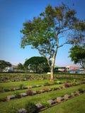 Guerra do cemitério Imagens de Stock Royalty Free