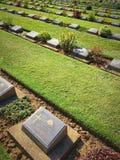 Guerra do cemitério Imagem de Stock