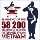 Guerra do vietname Dia da relembrança Fotos de Stock Royalty Free