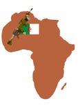 Guerra em Argélia imagens de stock royalty free