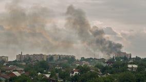 Guerra en la ciudad almacen de metraje de vídeo