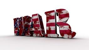 guerra EUA Imagem de Stock