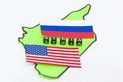 Guerra, los E.E.U.U. y Rusia foto de archivo