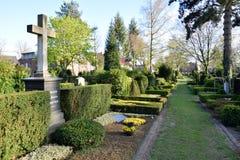 Guerra militar de Alemania segunda del cementerio Fotos de archivo